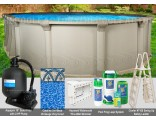 """15'x26'x54"""" Quest Oval Pool Package"""