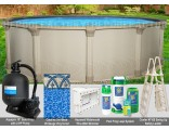 """18'x54"""" Quest Round Pool Package"""