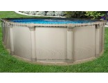 "18'x33'x54"" Quest Oval Pool"