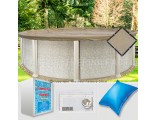 12' Round Ultimate Closing Package for Saltwater Systems (WideMouth Plate)