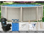 "21'x54"" Saltwater 8000 Round Pool Package"