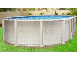 "12'x18'x54"" Saltwater 8000 Oval Pool"