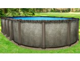 "12'x18'x54"" Saltwater LX Oval Pool"