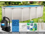 "8'x12'x52"" Signature RTL Oval Pool Package"
