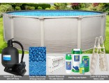 "12'x52"" Signature RTL Round Pool Package"