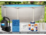 """12'x52"""" Signature RTL Round Pool Package"""