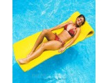 "Swimline 1.5"" thick SofSkin Floating Mattress Yellow"