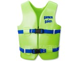 Super Soft Vest - Child Youth Medium Green 50-90lbs.