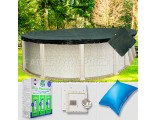 10'x21' Oval Supreme Closing Package for Pool Frog System (Small Mouth Plate)