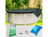 15'x30' Oval Supreme Closing Package for Pool Frog System (WideMouth Plate)