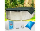 21'x43' Oval Supreme Closing Package for Saltwater Systems (WideMouth Plate)