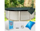 24' Round Supreme Closing Package for Saltwater Systems (WideMouth Plate)
