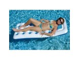 Swimline Solstice Aqua Window Floating Mattress 16145SF