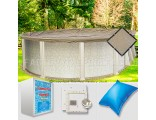 8'x15' Oval Ultimate Closing Package (Small Mouth Plate)