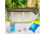 15'x26' Oval Super Heavy XXtreme Closing Package (WideMouth Plate)