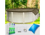 10'x16' Oval Super Heavy XXtreme Closing Package for Pool Frog System (WideMouth Plate)