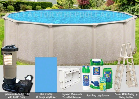 "24'x52"" Alpha Round Pool Package"