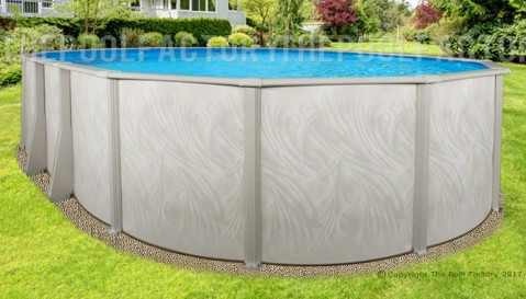 "12'x24'x52"" Bristol Oval Pool"