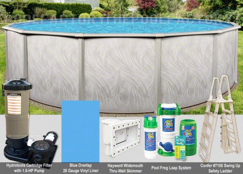 "12'x52"" Bristol Round Pool Package"
