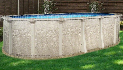 "12'x24'x54"" Cameo Oval Pool"