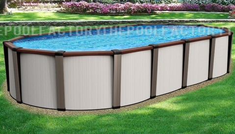 "15'x26'x54"" Daytona Oval Pool"