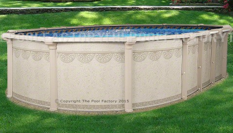 "12'x27'x52"" Hampton Oval Pool"