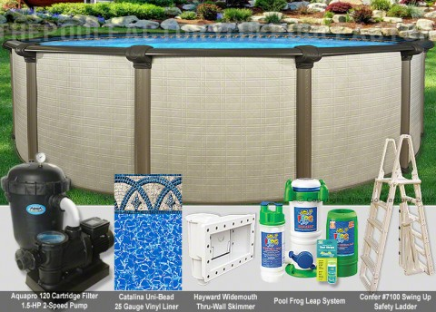 "12'x54"" Melenia Round Pool Package"