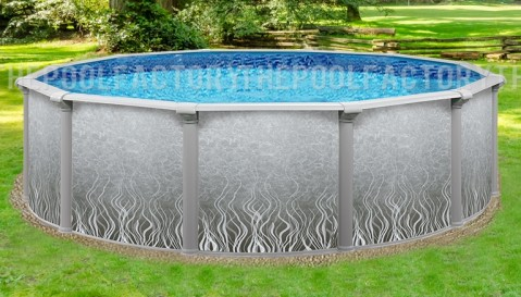 "21'x52"" Pacific Round Pool"