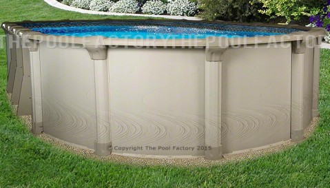 "15'x26'x54"" Quest Oval Pool"