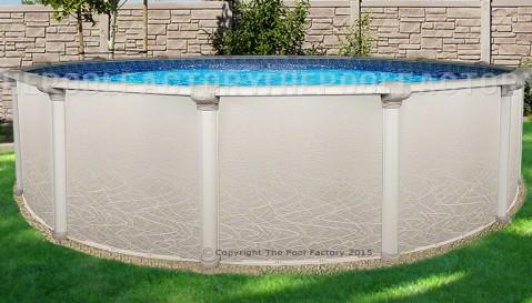 "24'x52"" Saltwater 5000 Round Pool"