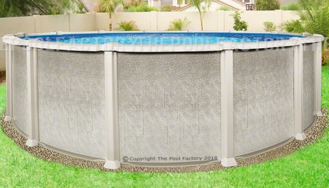 "21'x54"" Saltwater 8000 Round Pool"