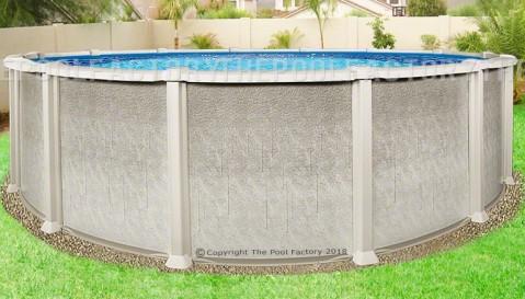 "33'x54"" Saltwater 8000 Round Pool"