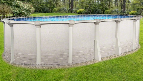 "12'x24'x52"" Signature RTL Oval Pool"