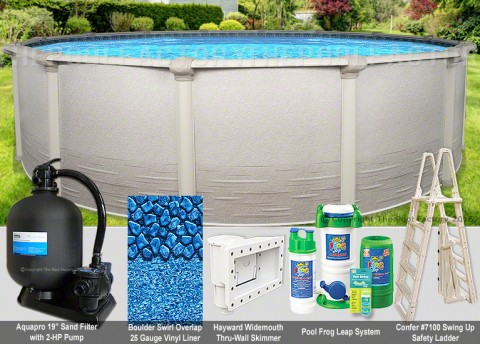 "24'x52"" Signature RTL Round Pool Package"