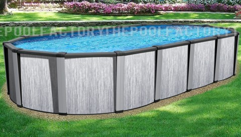 "15'x26'x54"" Tribeca Oval Pool"