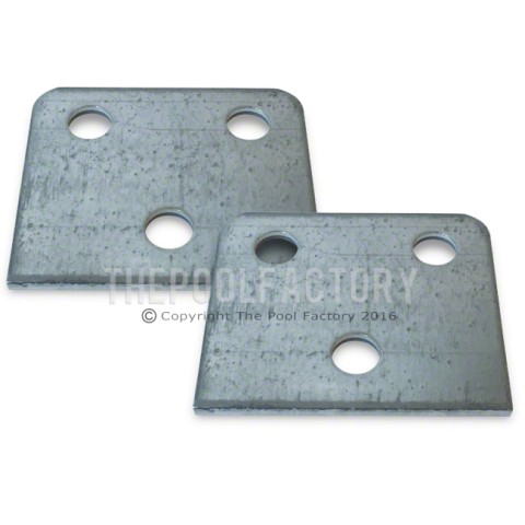 3-Hole Square Washers for Oval Sharkline/Saltwater Pool Models