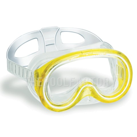 Swimline Kauai Teardrop Mask (Yellow)
