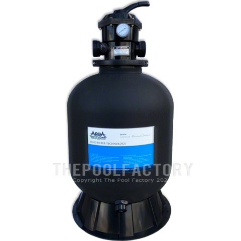 "AquaPro 19"" Sand Filter Tank with Skirt"