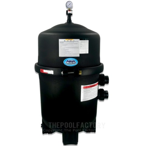AquaPro 425 SQ. FT. Mega Quad Inground Cartridge Filter Tank