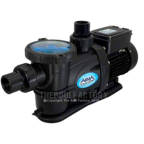 AquaPro 2HP 2-SPEED PurFlow Above Ground Pool Pump w/Twist Lock Cord