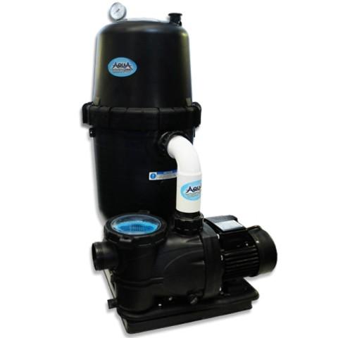 AquaPro 200 SQ. FT. Cartridge Filter System 1.5-HP 2-Speed Pump 2 Year Warranty