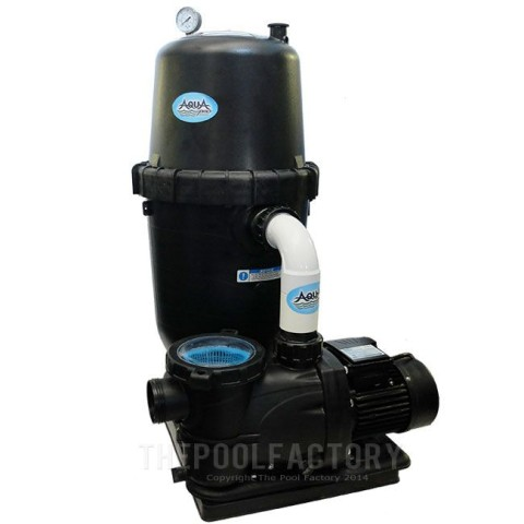 AquaPro 250 SQ. FT. Cartridge Filter System with 2-HP Pump