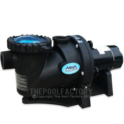Aquapro Apex Series 1 HP Single Speed Inground Pool Pump 115V/230V