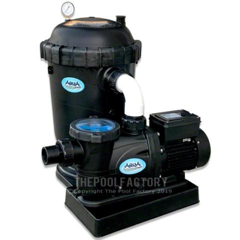 AquaPro DE48 Filter System 1.5-HP 2-Speed Pump 2 Year Warranty
