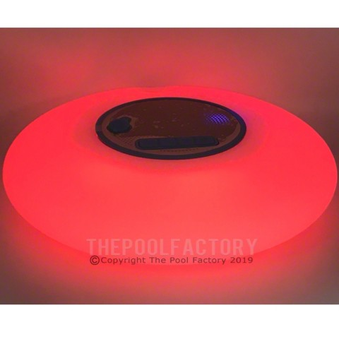 Floating Wireless Bluetooth Speaker with LED lights - Red Stage Shown