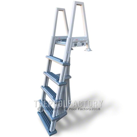 Confer Outside Ladder for Step #1 Model #8000X