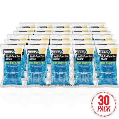 Focus Multi Function Shock 30 Pack - 10oz. Bags
