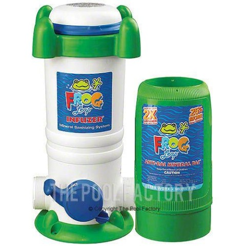 Pool Frog Leap Mineral Water Systems For Pools The