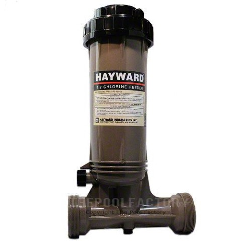 Hayward CL100 In-Line Above-Ground Chlorinator
