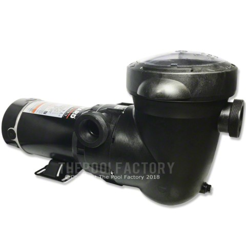 Hayward Power-Flo Matrix Pump 1 HP - Horizontal Discharge